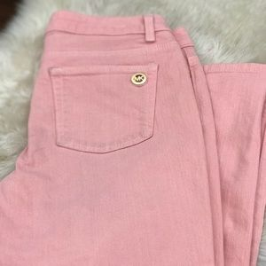Michael Kors Pink Skinny Jeans